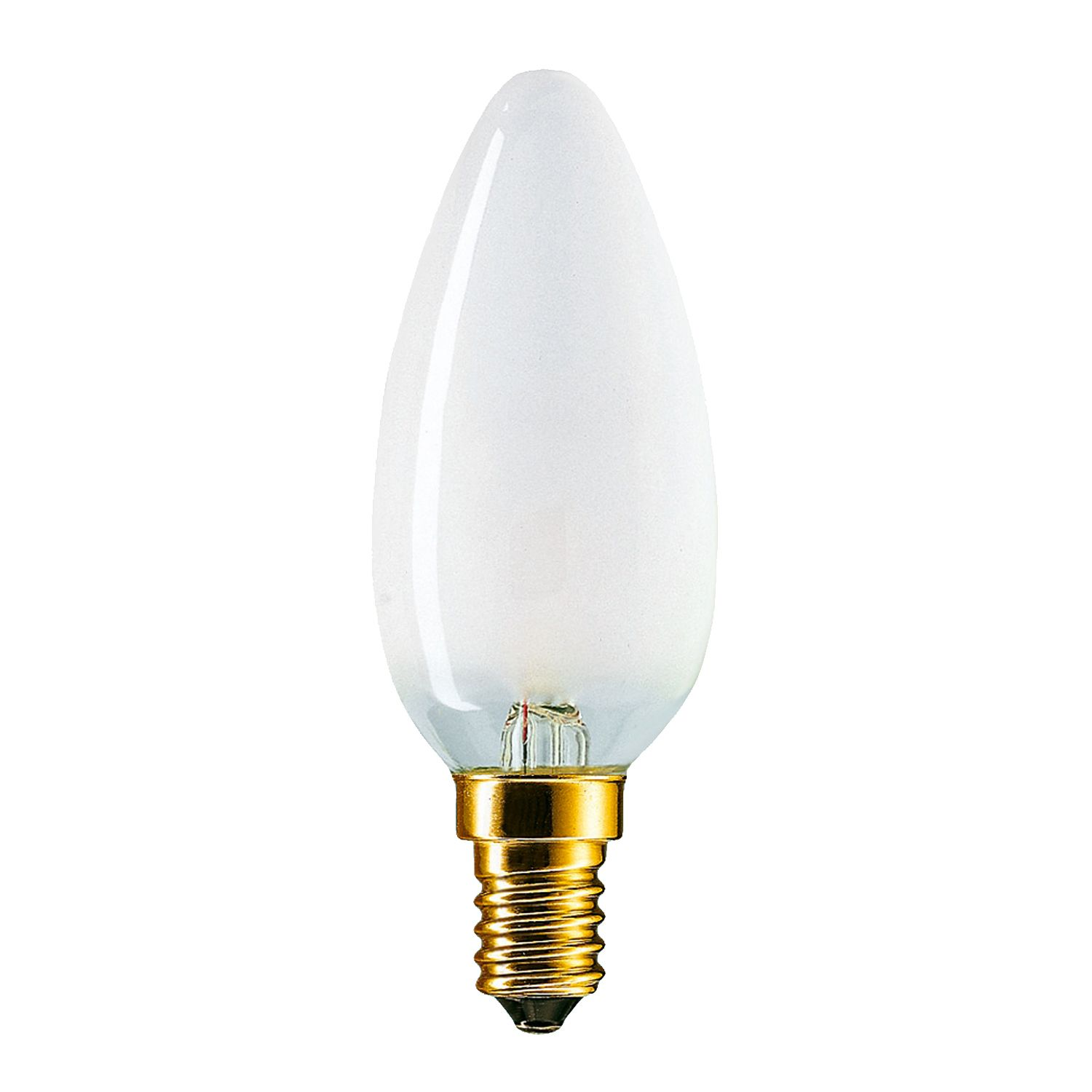 Standard Incandescent Candle Frosted B35 E14 25W 230V