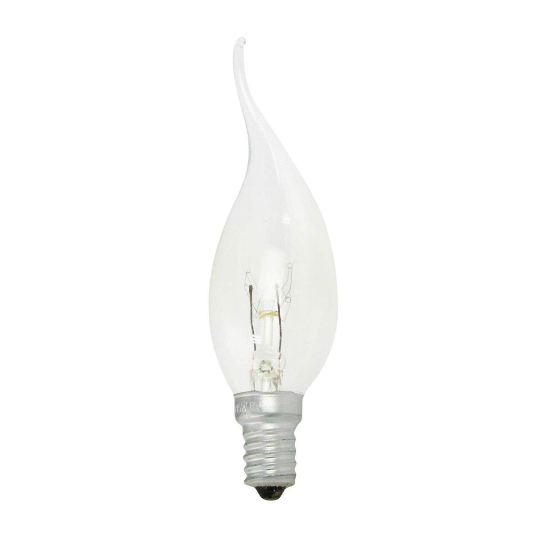 Standard Glühlampe Flamme Klar BA35 E14 40W 230V