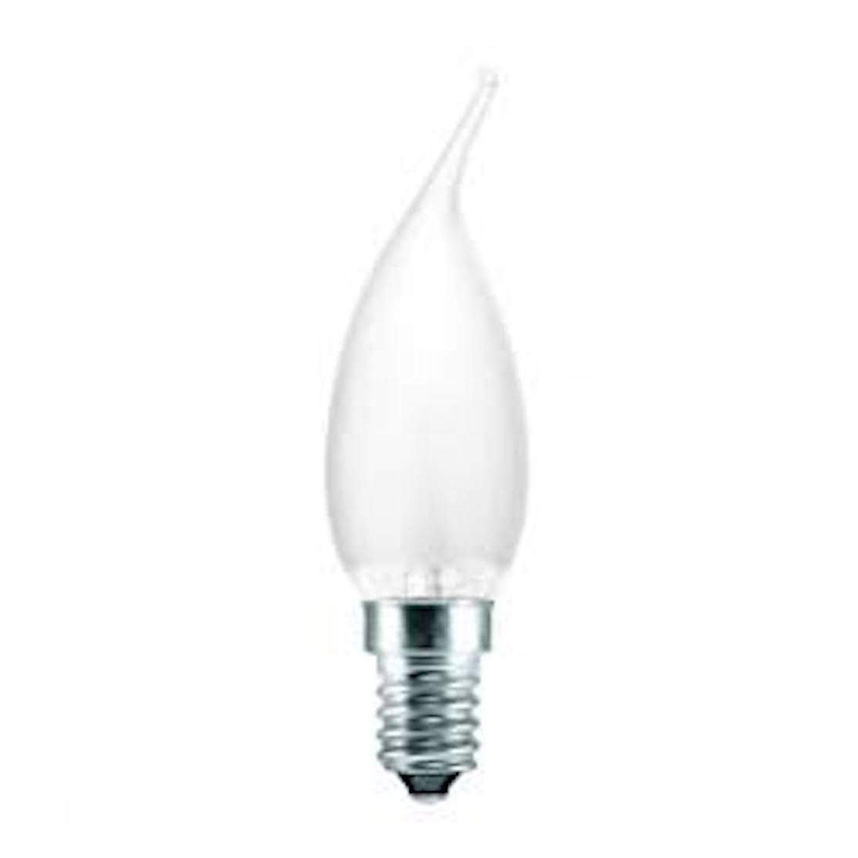 Standard Glühlampe Flamme Matt BA35 E14 25W 230V