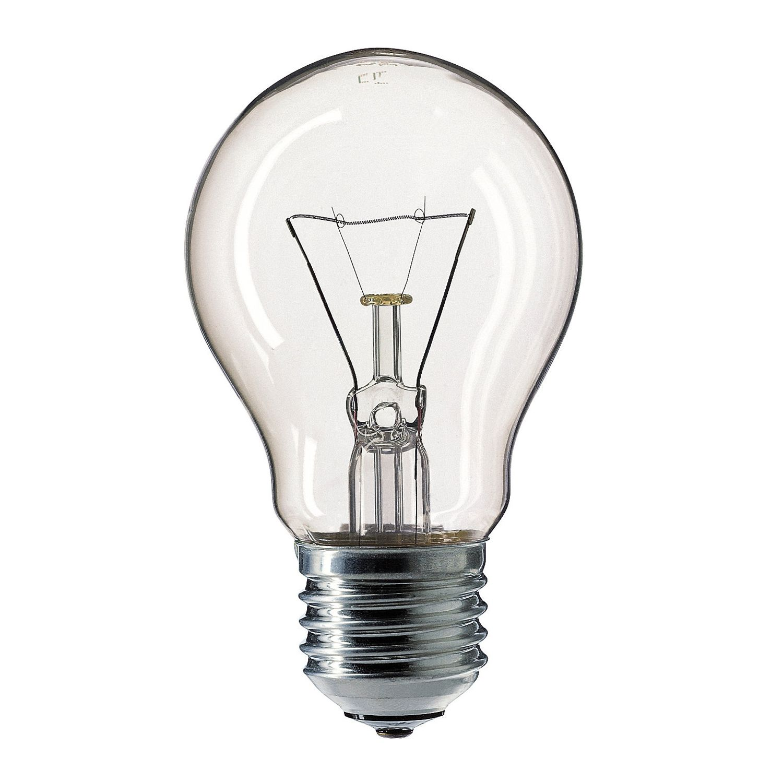 Standard Glühlampe  Klar A55 E27 100W 127V