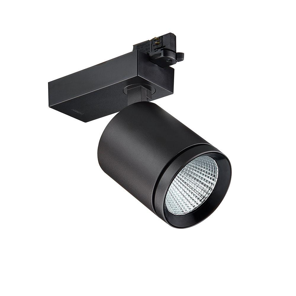 Philips LED 3-fase Railspot StyliD Evo ST780T LED49S/830 PSD-VLC HOVL-V Zwart | Dali Dimbaar