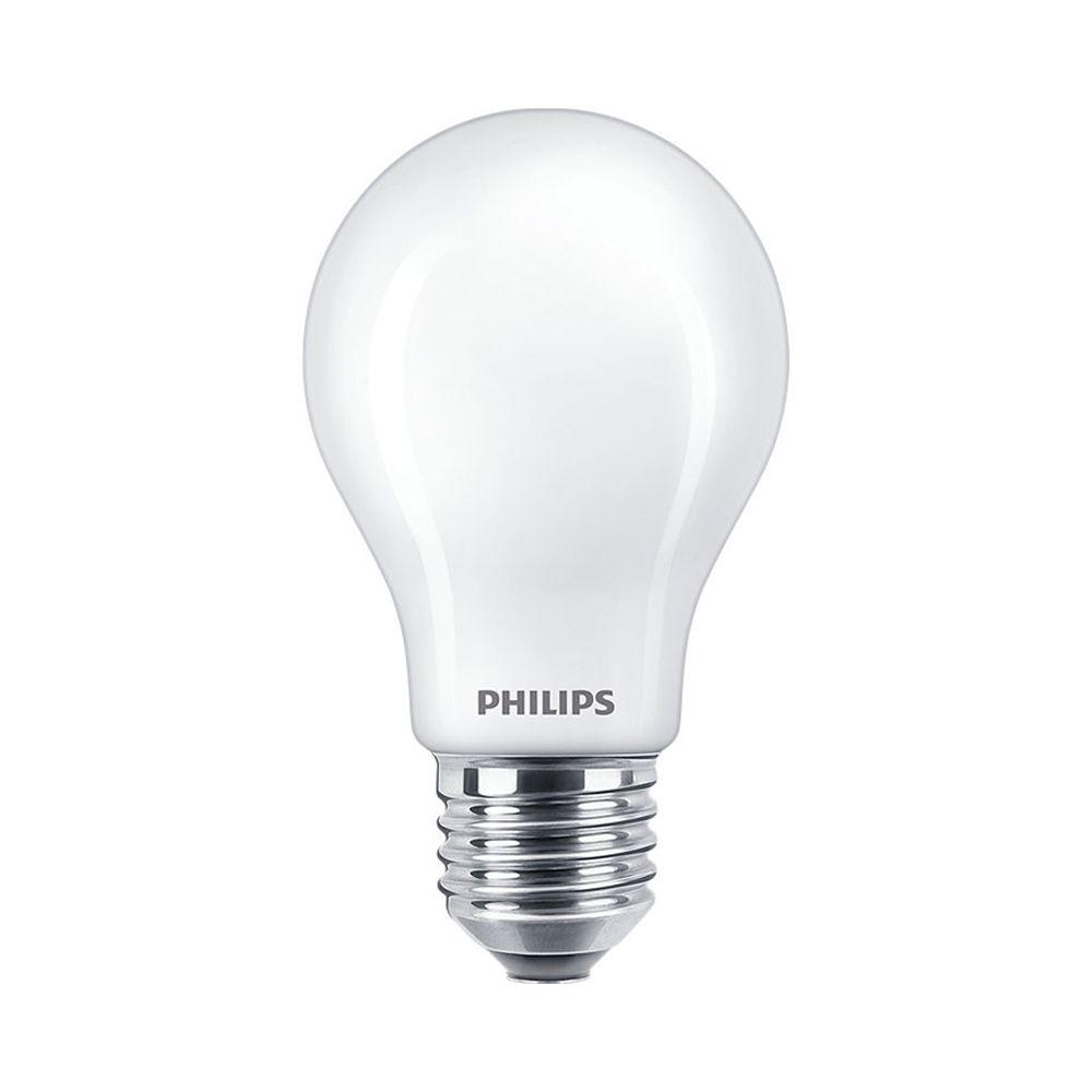 Philips Classic LEDbulb E27 A60 8.5W 830 | Warmweiß - Ersatz für 75W