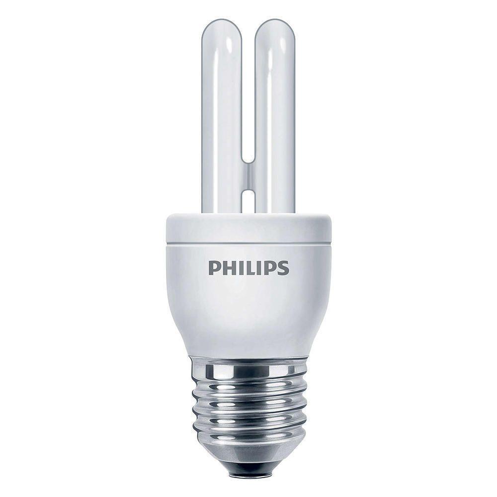 Philips Genie ESaver 5W 827 E27 | ekstra varm hvit