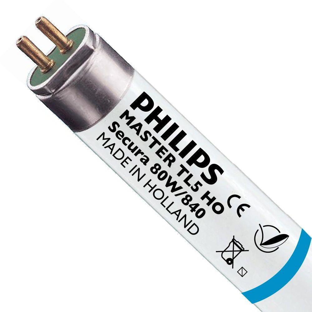 Philips TL5 HO Secura 80W 840 (MASTER) | 145cm - Kylmä Valkoinen