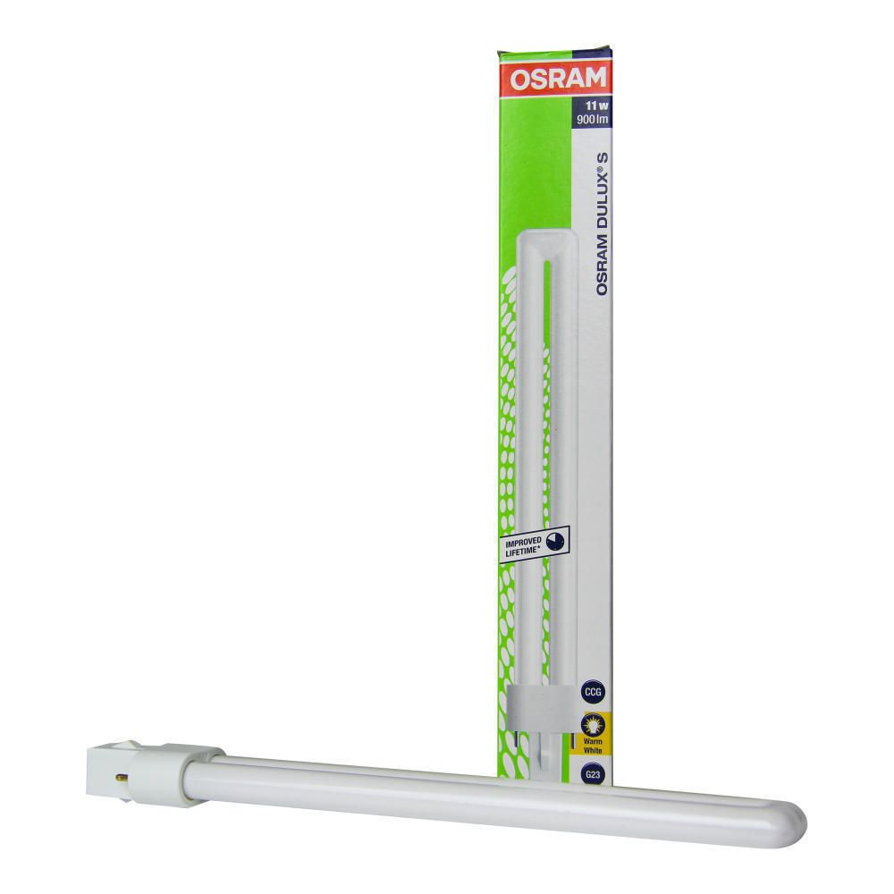 Osram Dulux S 11W 830 | Blanc Chaud - 2-Pins