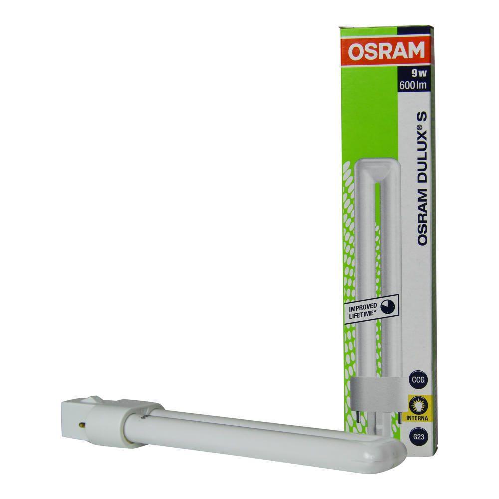 Osram Dulux S 9W 827 | ekstra varm hvid - 2-pinde