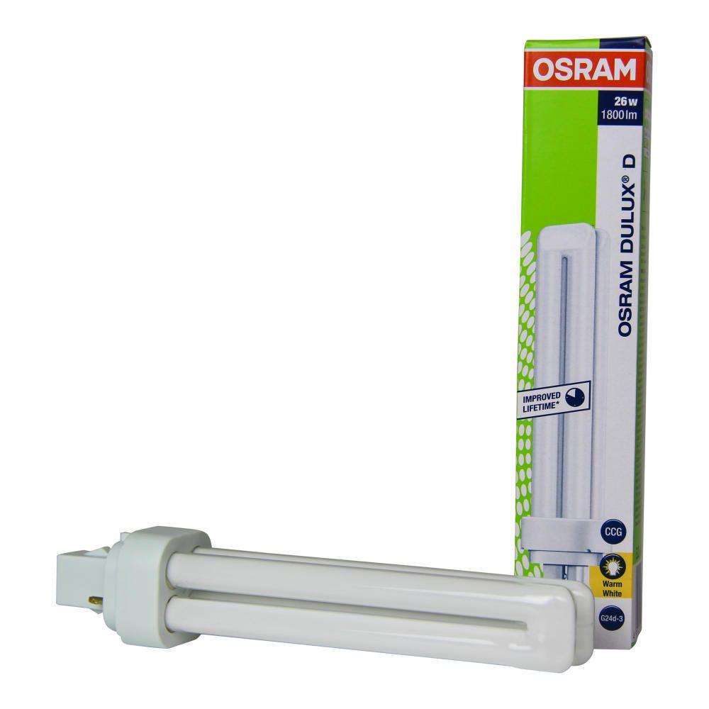 Osram Dulux D 26W 830 | Luz Cálida - 2-Pines