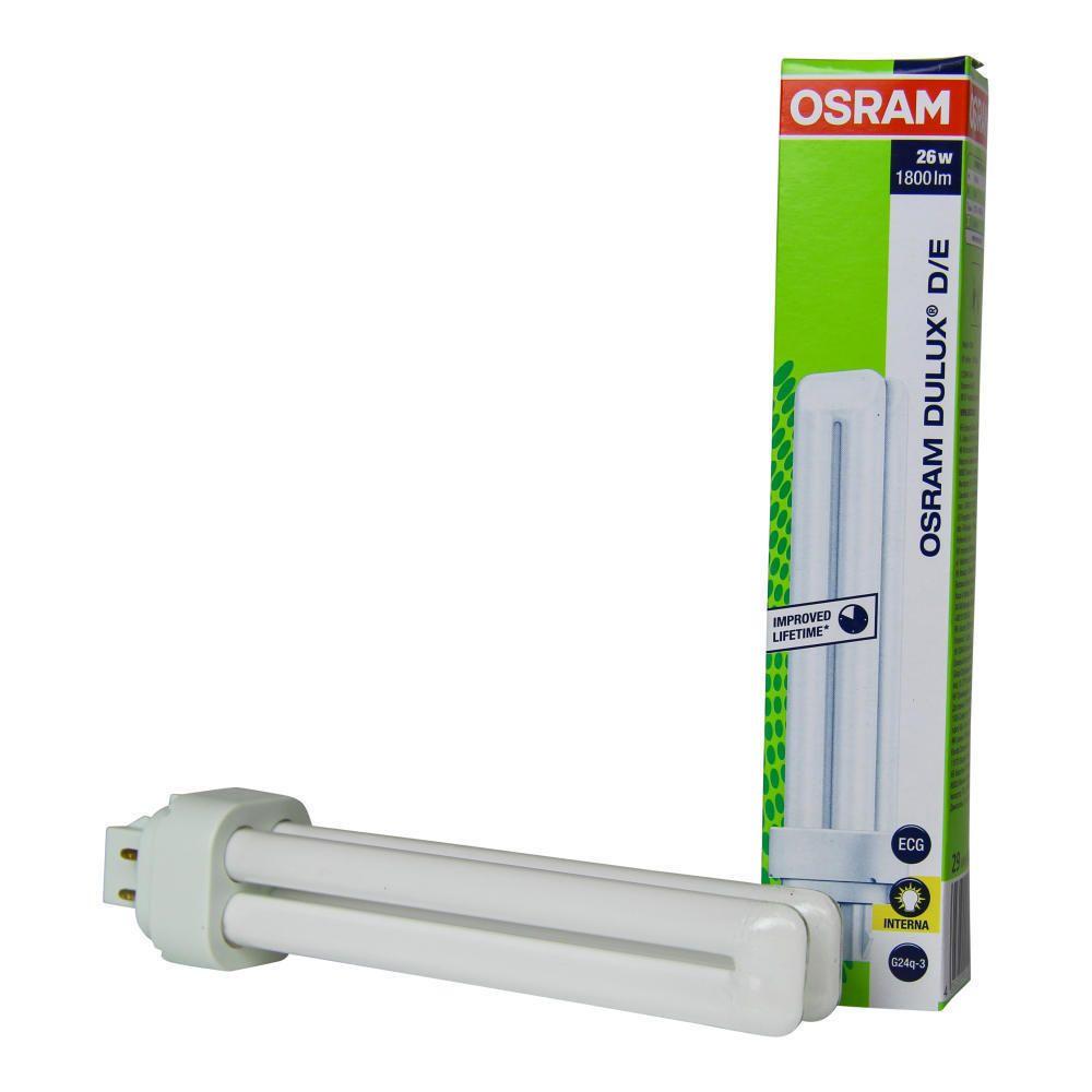 Osram Dulux D/E 26W 827 | Erittäin Lämmin Valkoinen - 4-Nastaa