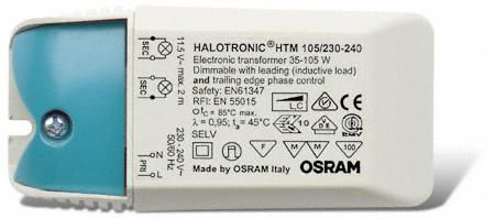 Osram HTM 105VA 230V Transformateur 12V | Halogen/LED
