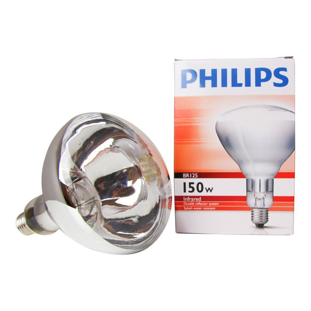 Philips BR125 IR 150W E27 230-250V przejrzysty
