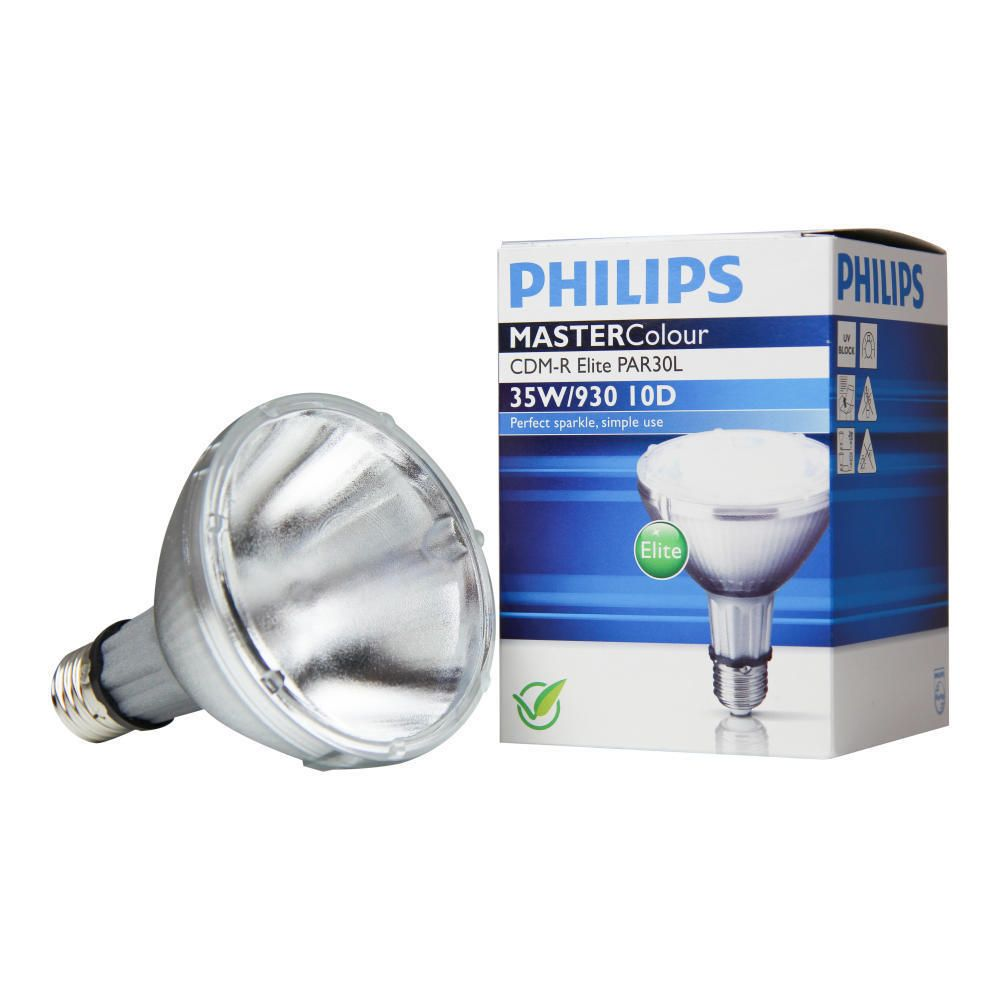 Philips MASTERColour CDM-R Elite 35W 930 E27 PAR30L 30D | 2700 Lumen - Höchste Farbwiedergabe