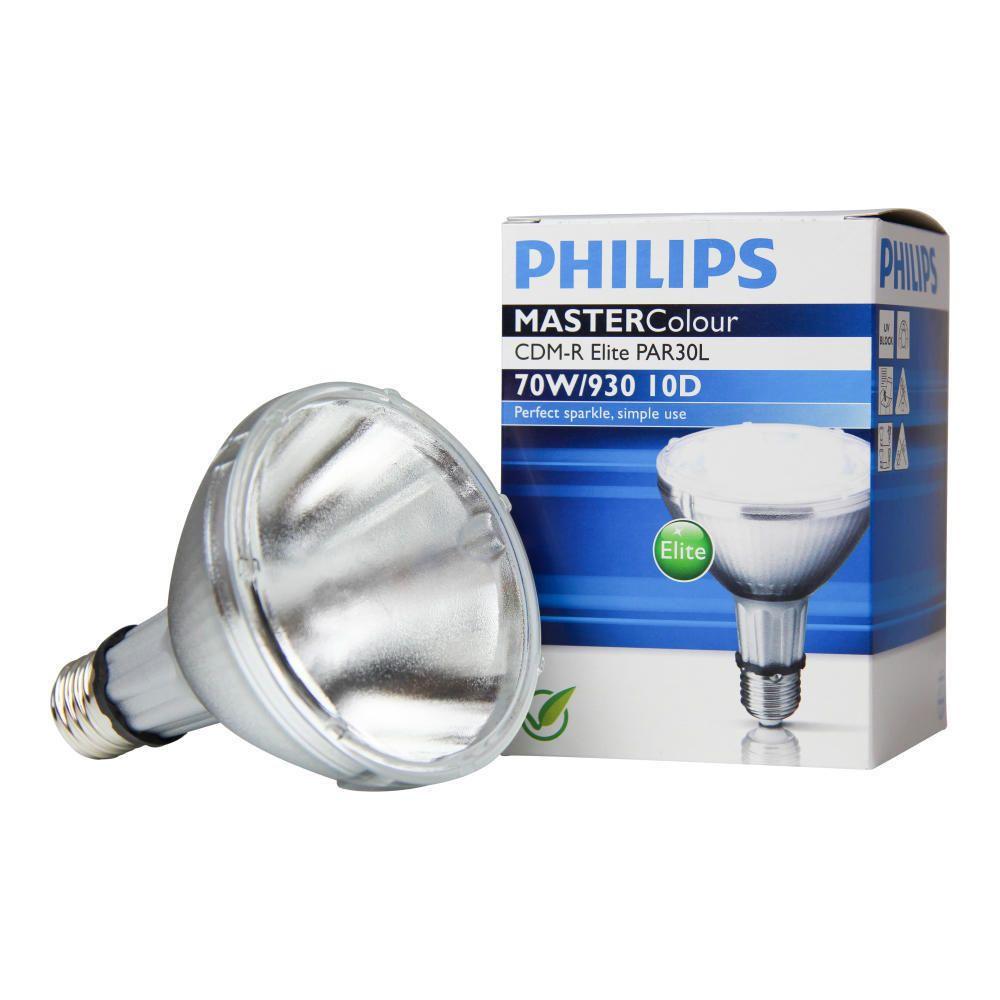 Philips MASTERColour CDM-R Elite 70W 930 E27 PAR30L 10D | Warm Wit - Beste Kleurweergave