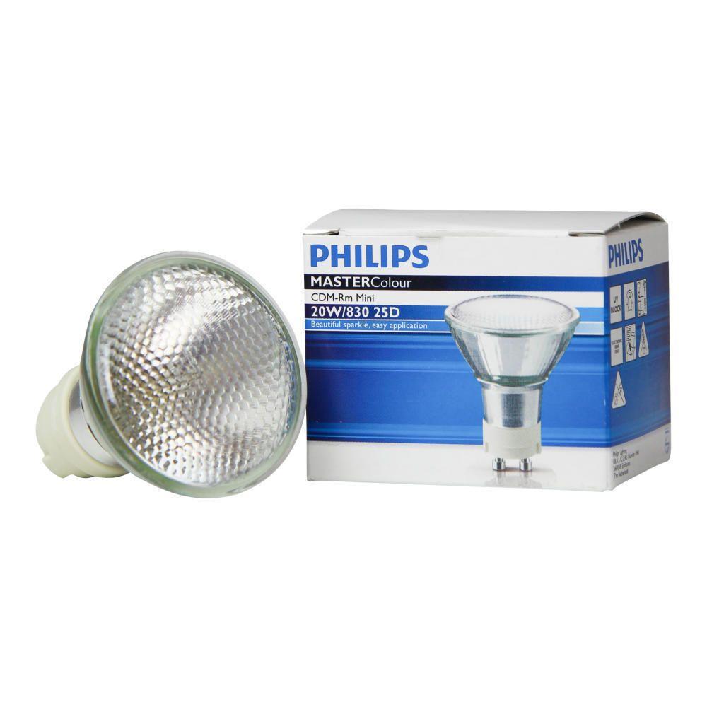 Philips MASTERColour CDM-RM Mini 20W 830 GX10 MR16 25D | Luce Calda