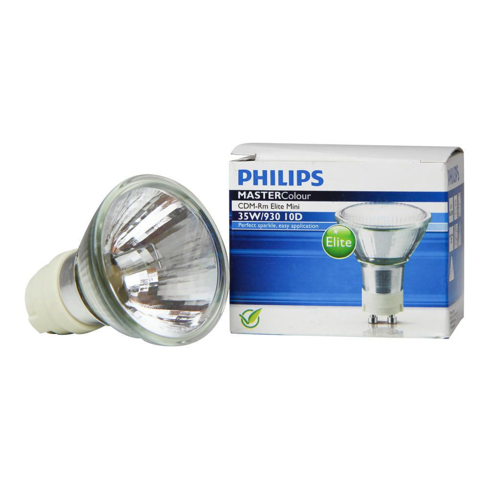 Philips MASTERColour CDM-Rm Elite Mini 35W 930 GX10 10D | Warmweiß - Beste Farbwiedergabe