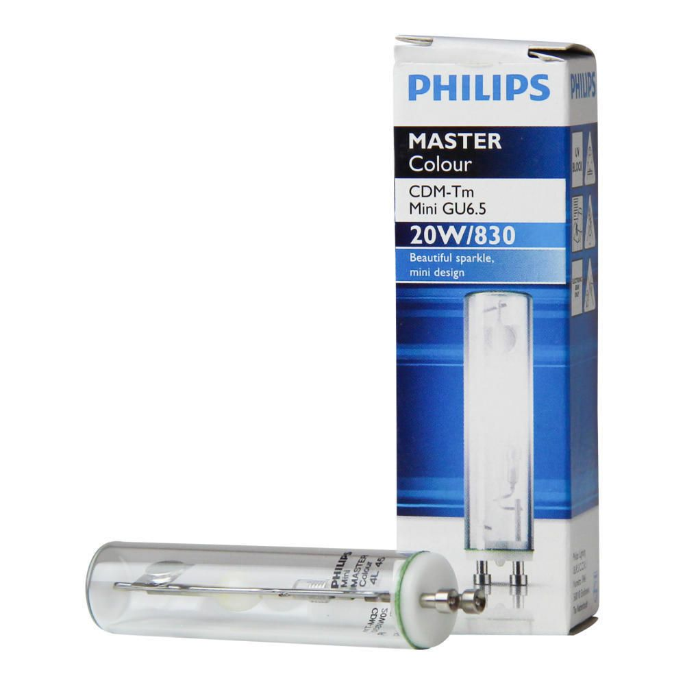 Philips MASTERColour CDM-Tm Mini 20W 830 GU6.5