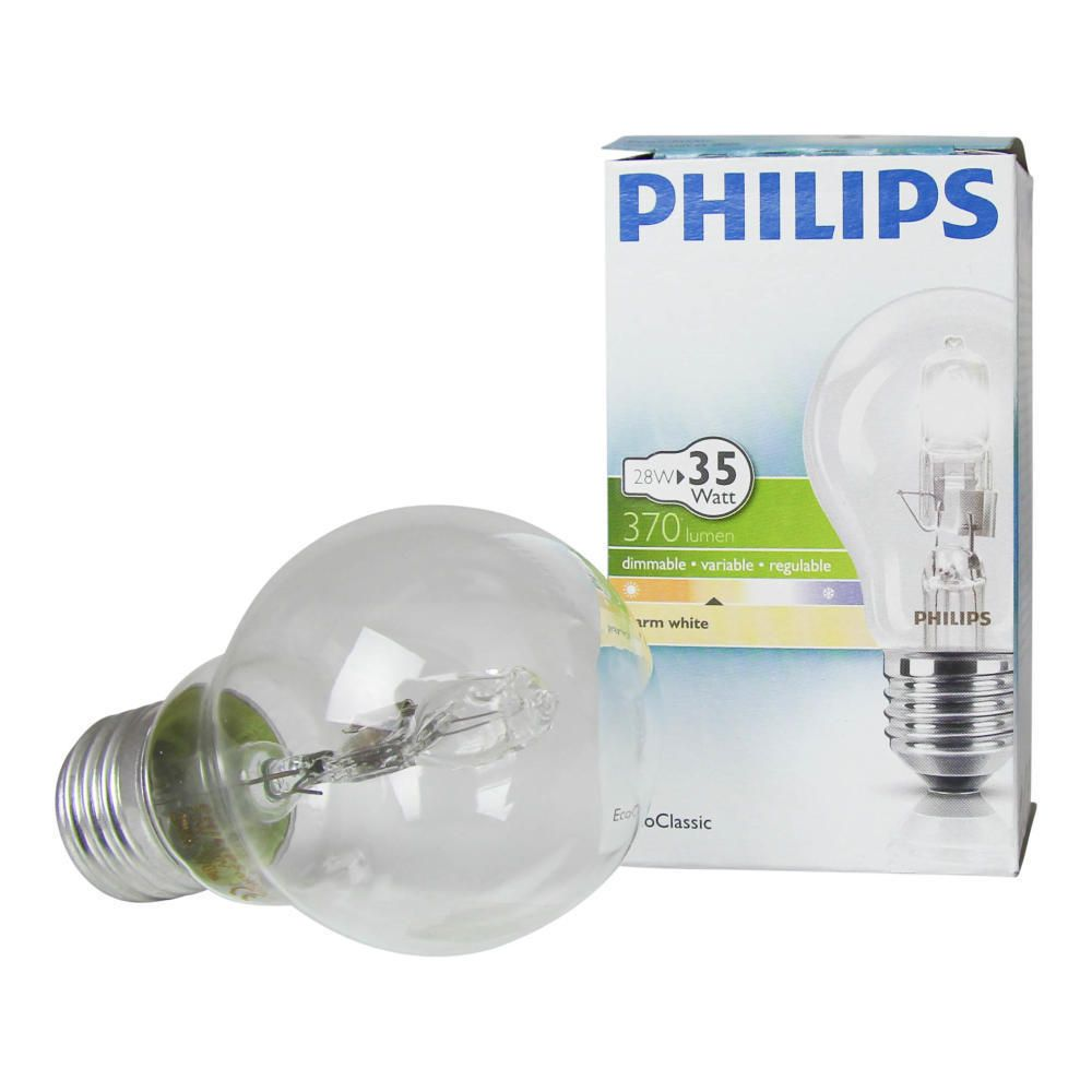 Philips EcoClassic 28W E27 230V A55 Clear