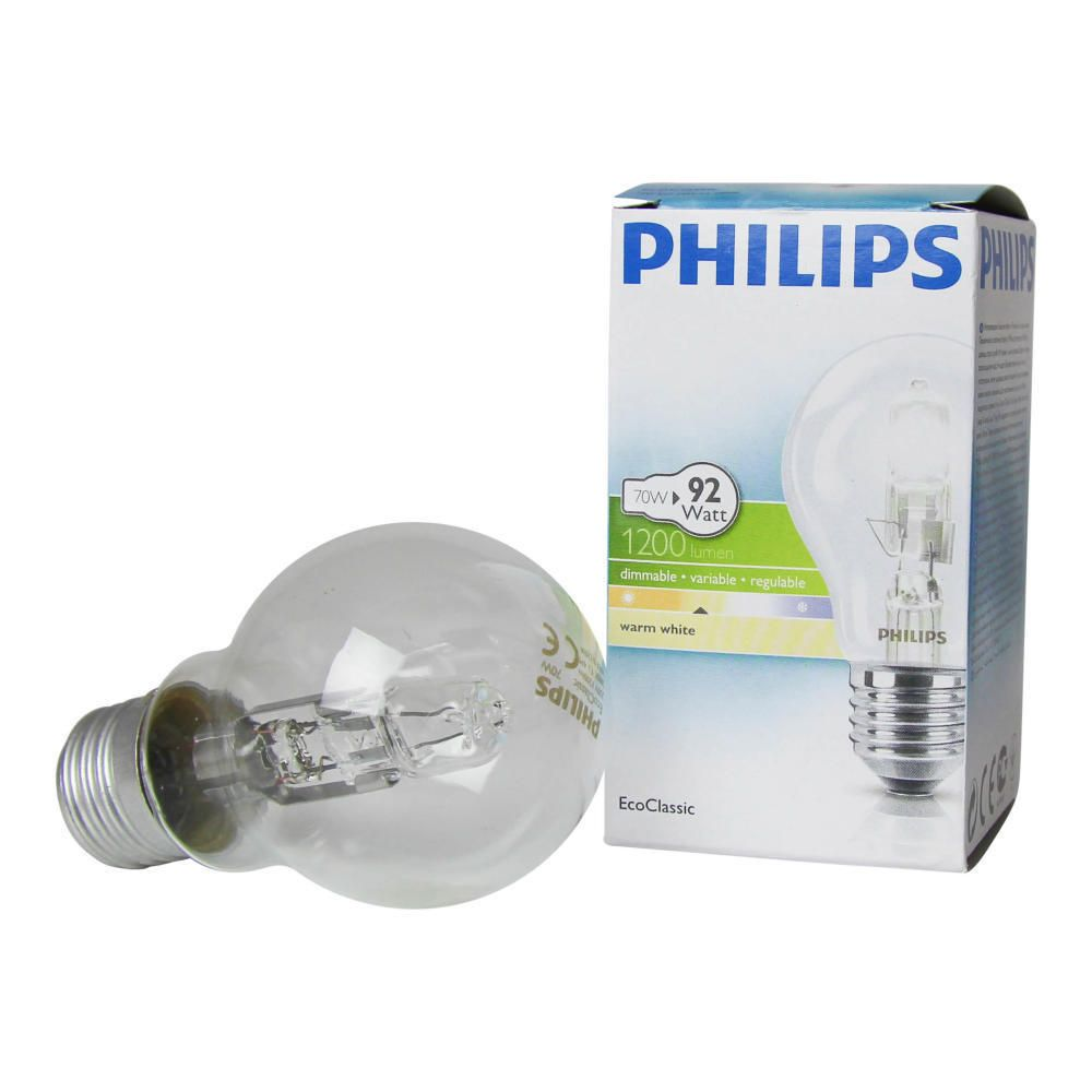 Philips EcoClassic 70W E27 230V A55 Clear