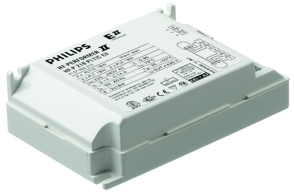 Philips HF-P 1 22-42 PL-T/C/L/TL5C II 220-240V for 1x22-42W