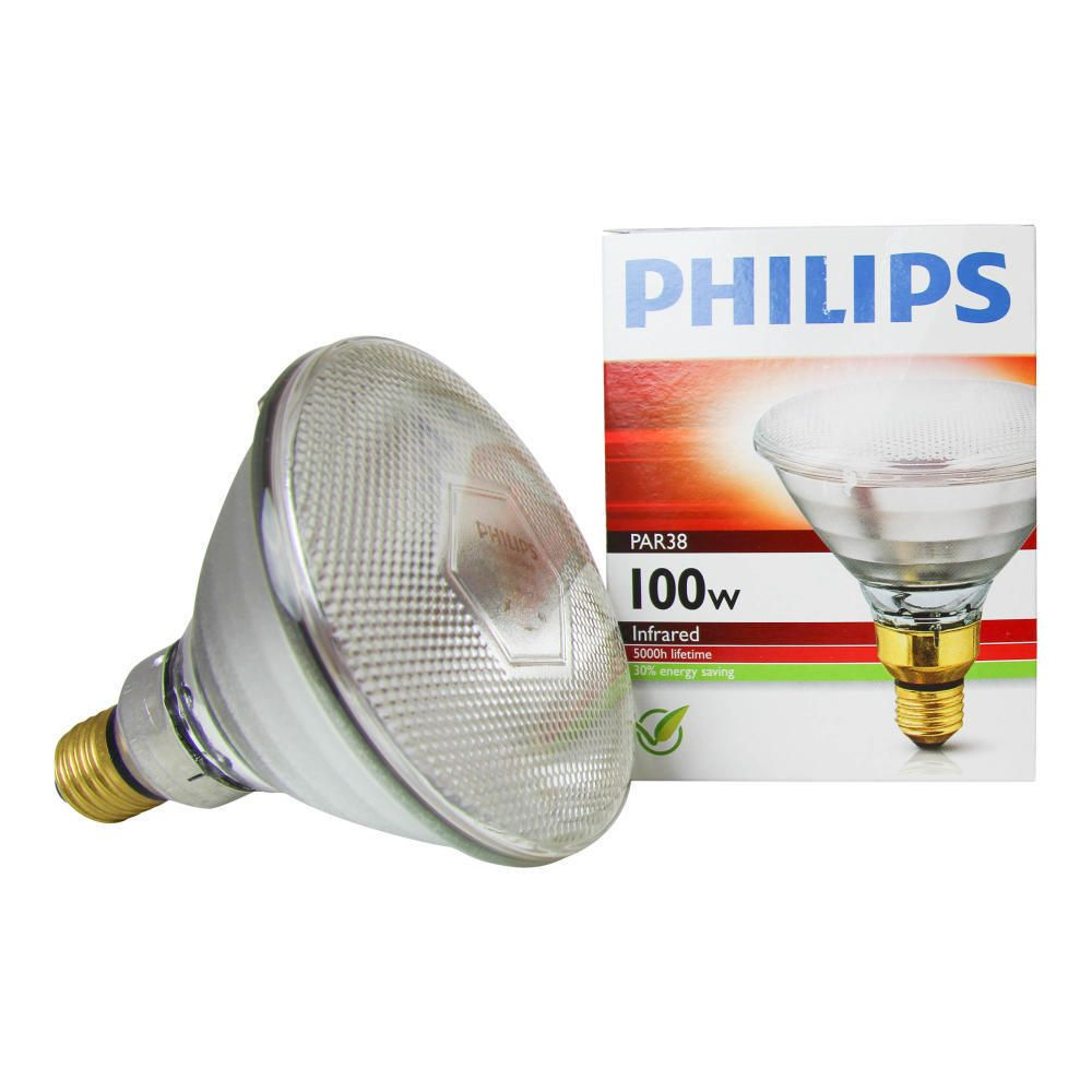 Philips PAR38 IR 100W E27 230V Clear