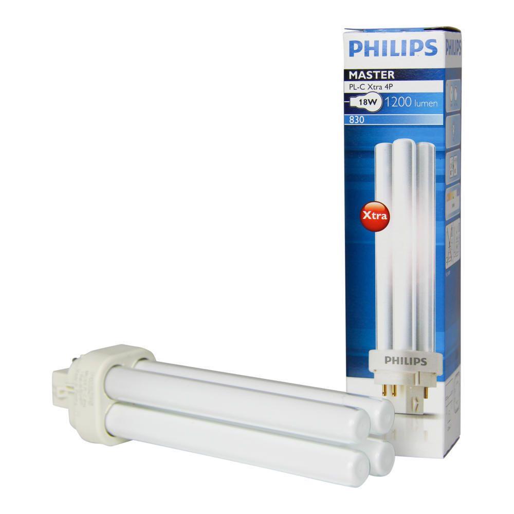 Philips MASTER PL-C Xtra 18W 830 4P