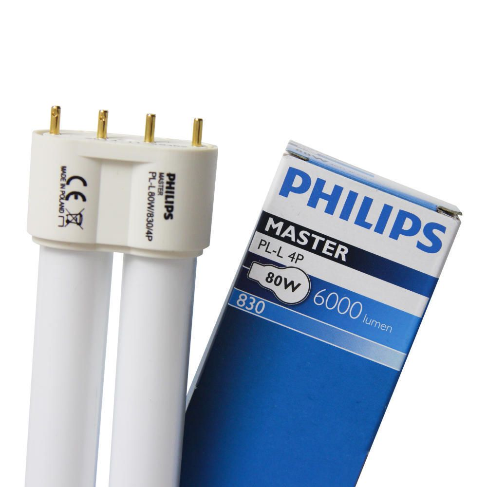 Philips PL-L 80W 830 4P MASTER | 4-Pin