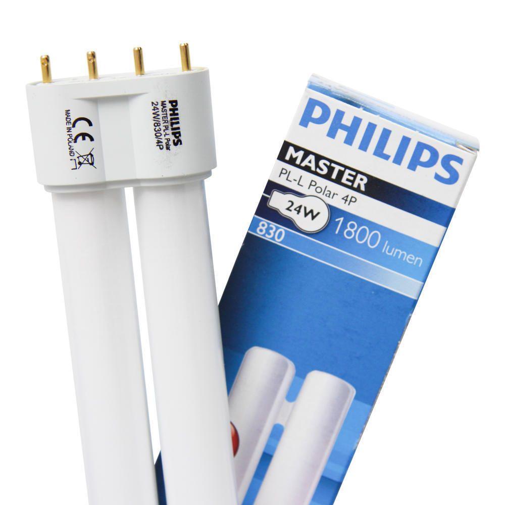 Philips PL-L Polar 24W 830 4P (MASTER) | Blanc Chaud - 4-Pins