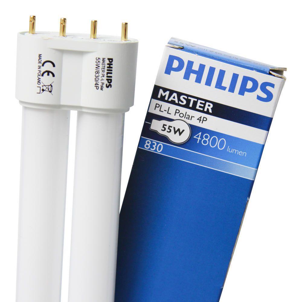 Philips PL-L Polar 55W 830 4P (MASTER) | varm hvid - 4-pinde