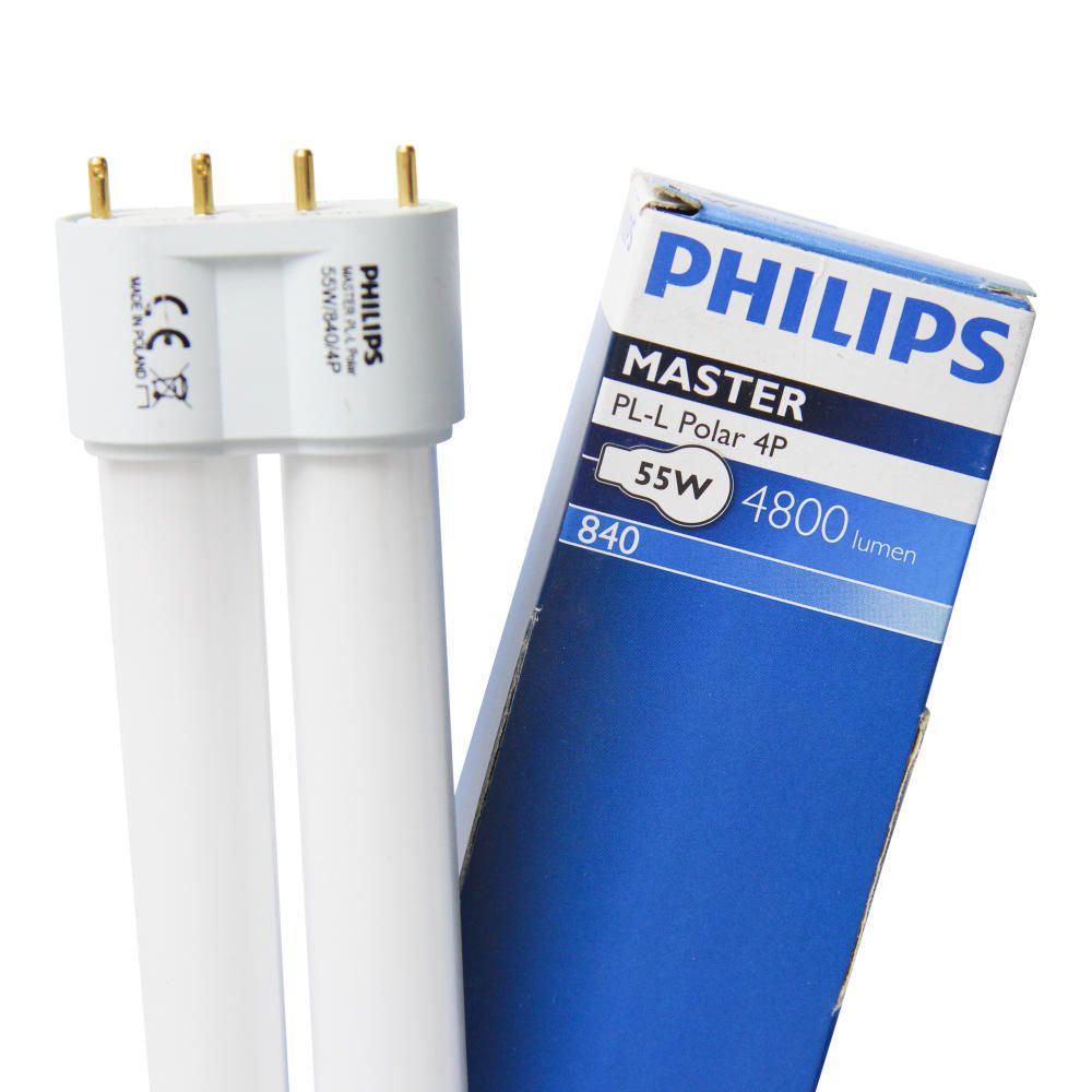 Philips PL-L Polar 55W 840 4P (MASTER) | Blanc Froid - 4-Pins