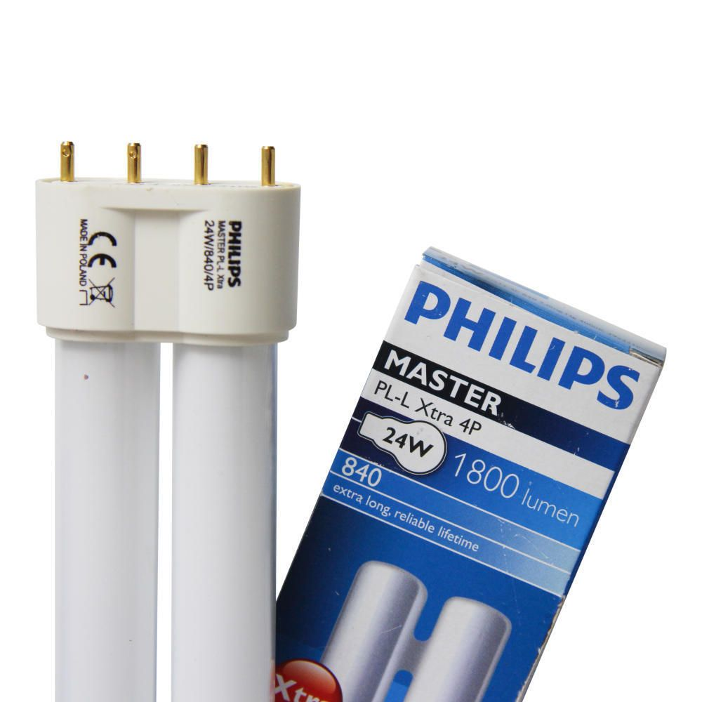 Philips PL-L Xtra 24W 840 4P MASTER | 4-Pin
