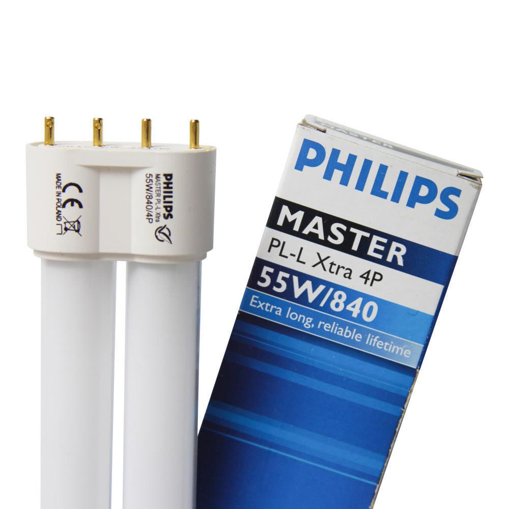 Philips PL-L Xtra 55W 840 4P MASTER | 4-Pin