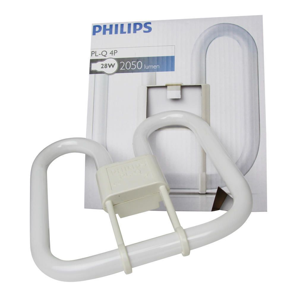 Philips PL-Q 28W 827 4P (MASTER) | ekstra varm hvit - 4-stift