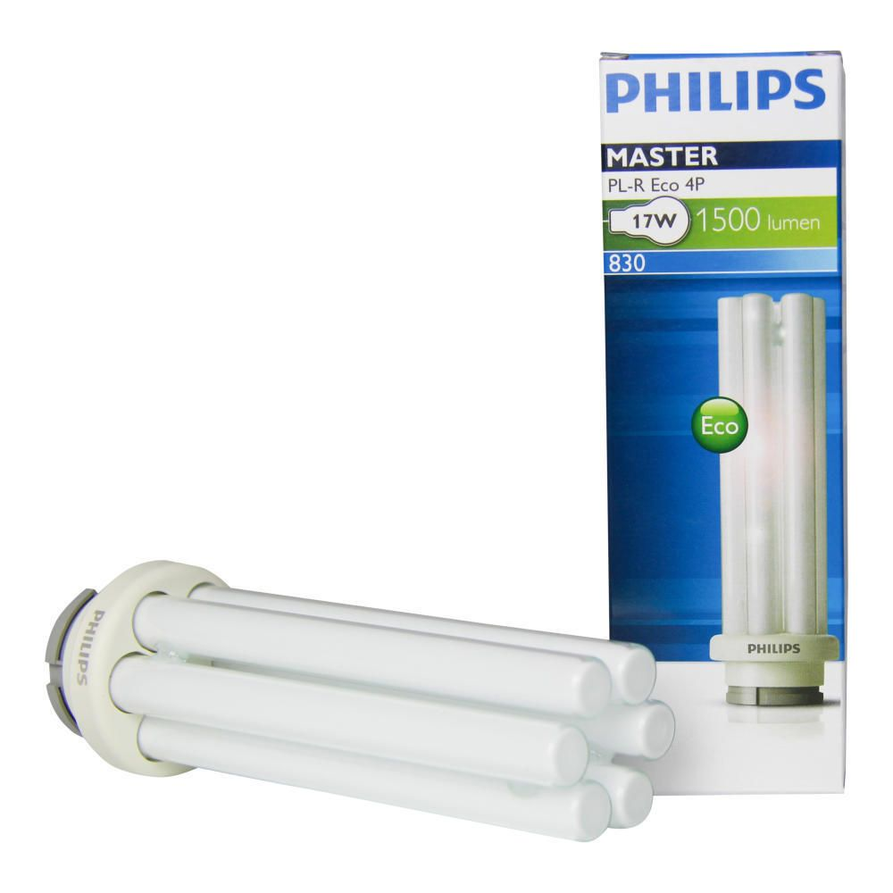 Philips PL-R Eco 17W 830 4P (MASTER) | Warmweiß - 4-Stift