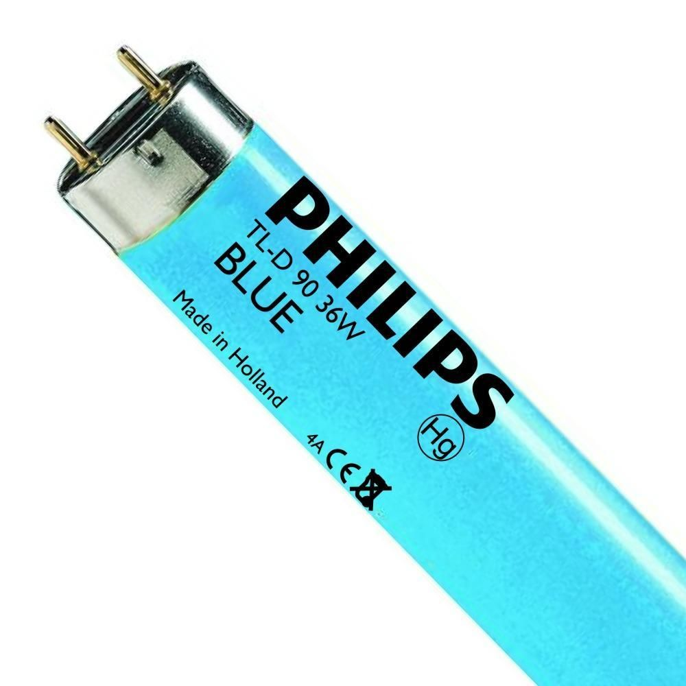 Philips TL-D Colored 36W (MASTER) | 120cm - Blauw