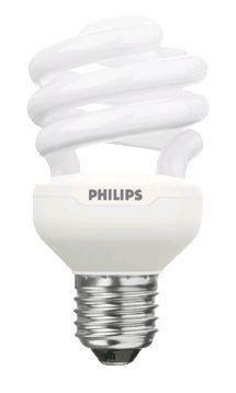 Philips Tornado T2 Spiral 15W 827 E27 | ekstra varm hvit