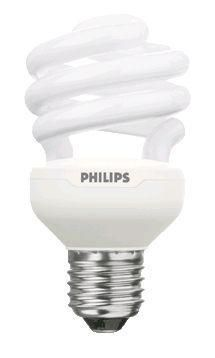 Philips Tornado T2 Spiral 23W 827 E27 | ekstra varm hvit