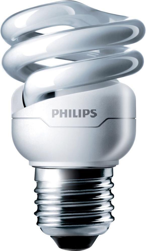 Philips Tornado T2 Spiral 8W 827 E27 | Blanc Très Chaud