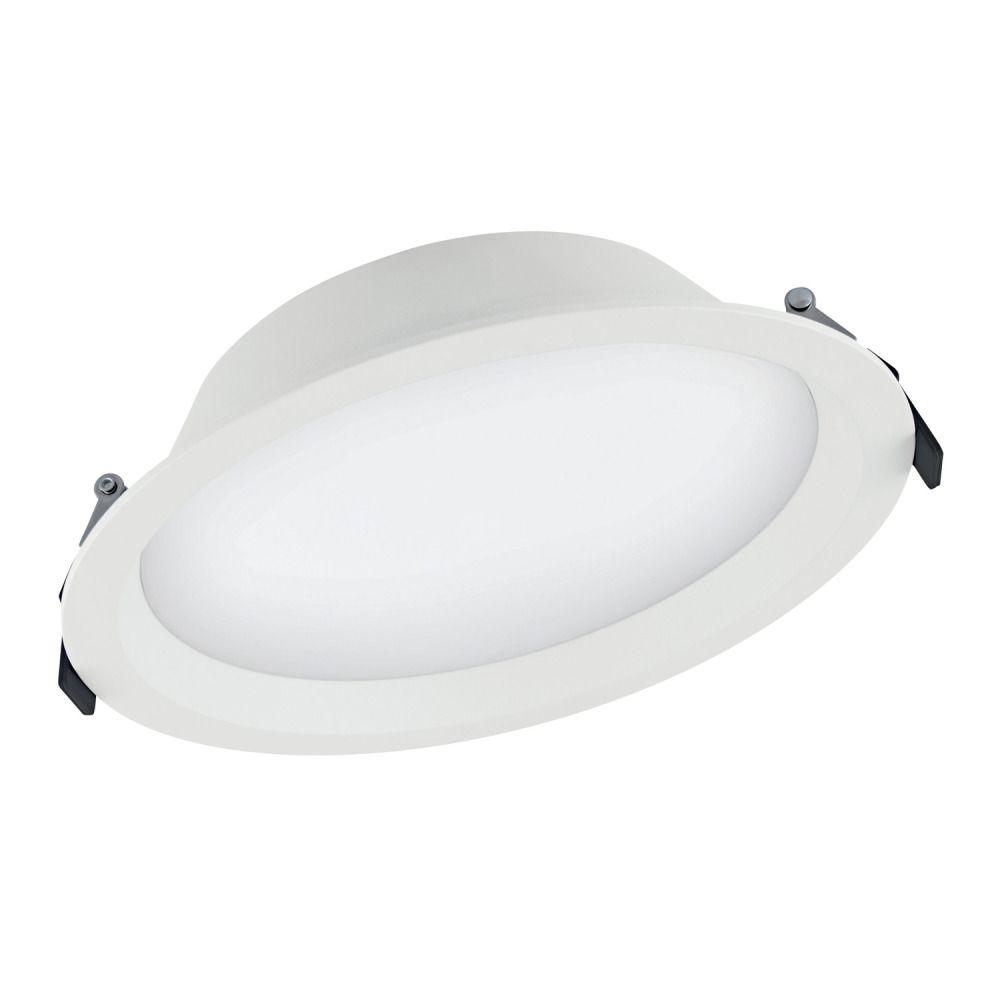 Ledvance LED Downlight Aluminum DN200 25W 840 IP44 | Dali Dimbaar - Vervangt 2x16W