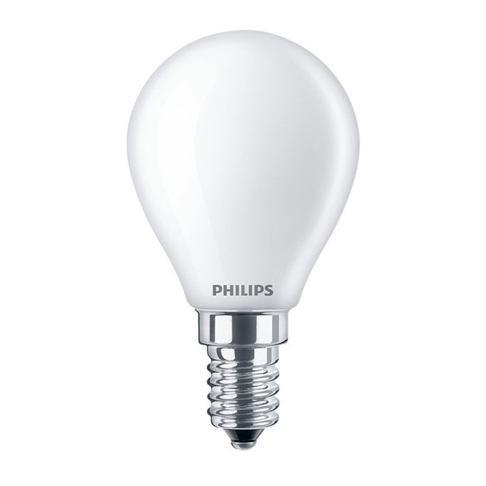 Philips Classic LEDlustre E14 P45 2.2W 827 Matt | Ersättare 25W