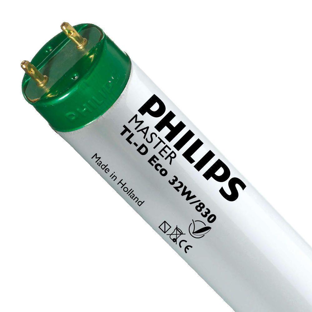 Philips TL-D Eco 32W 830 (MASTER) | 120cm - Varm Vit