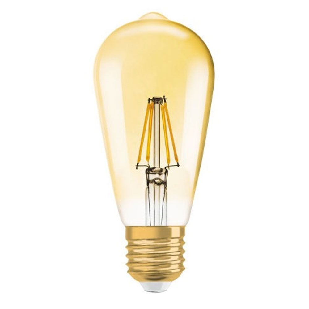 Osram Vintage 1906 LED E27 Edison 7W 825 Gold | Dimmable - Replacer for 55W