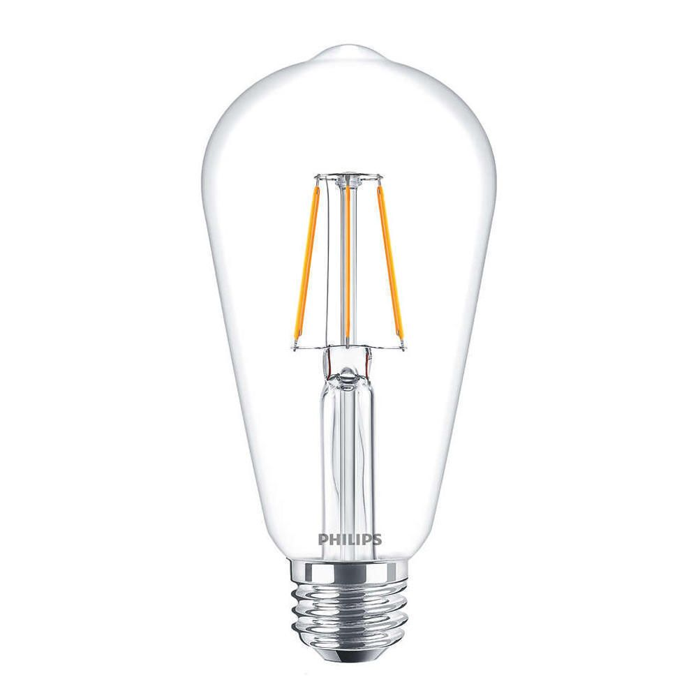 Philips Classic LEDbulb E27 Edison 4W 827 Klar | Ersetzt 40W