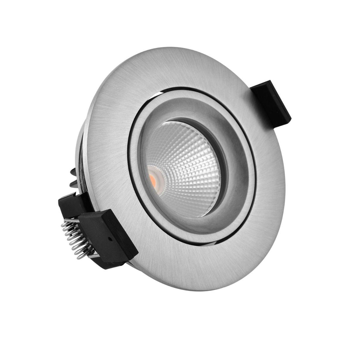 Noxion LED Strahler Aqua IP65 2700K Aluminium 6W | Beste Farbwiedergabe - Dimmbar