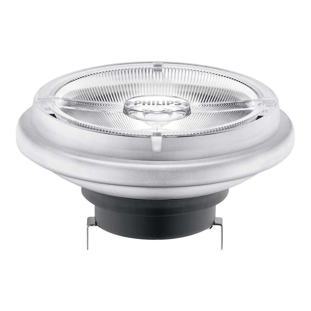 Philips LEDspot LV G53 AR111 12V 20W 827 24D (MASTER) | Extra Warm White - Dimmable - Replaces 100W