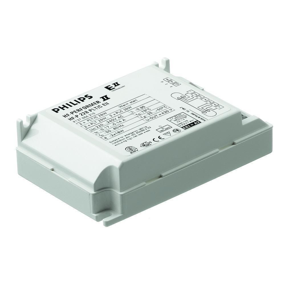 Philips HF-P 2 22-42 PL-T/C/L/TL5C II 220-240V for 2x22-42W