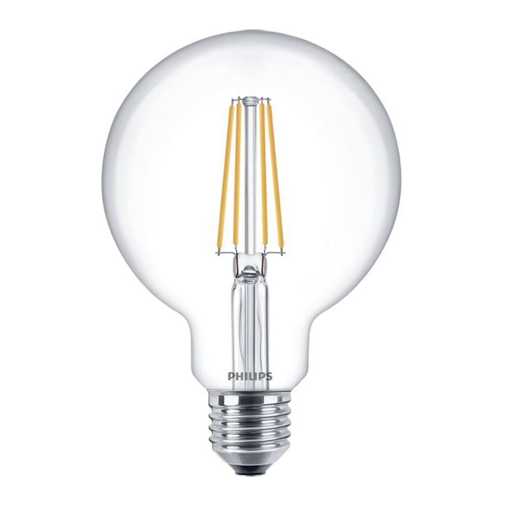 Philips Classic LEDglobe E27 G93 7W 827 Clear | Replaces 60W