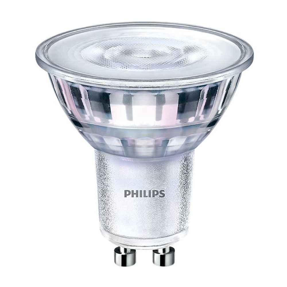 Philips CorePro LEDspot MV GU10 5W 830 36D | varm hvit - dimbar - erstatter 50W