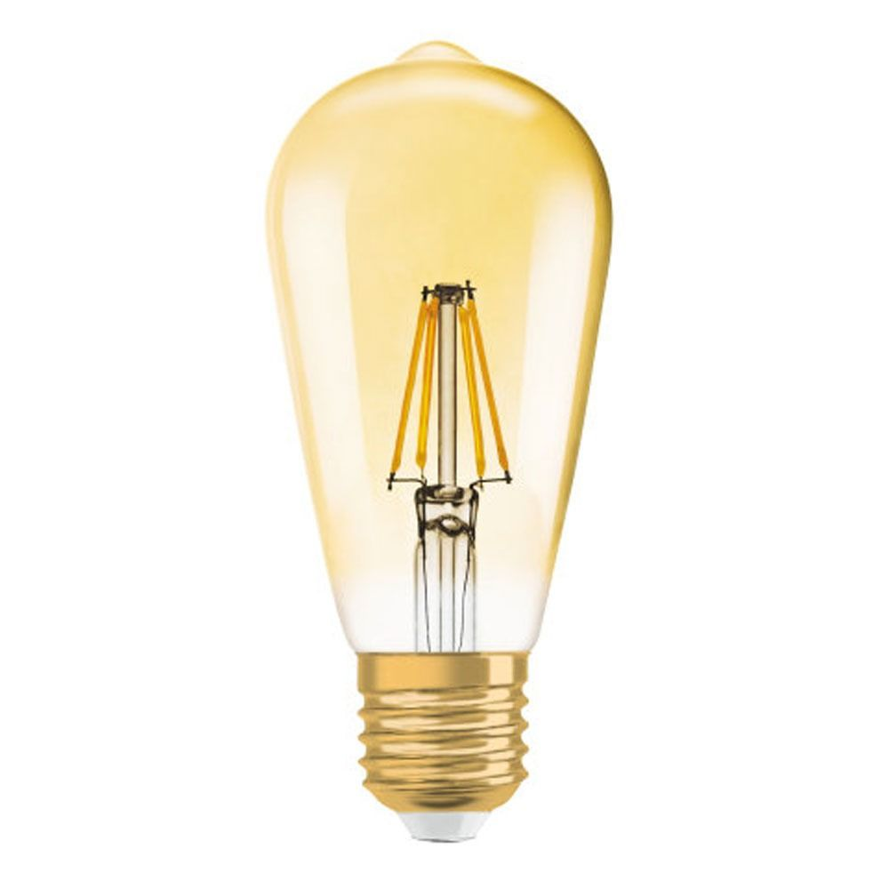 Osram Vintage 1906 LED E27 Edison 2.5W 824 Gold | Ersetzt 22W
