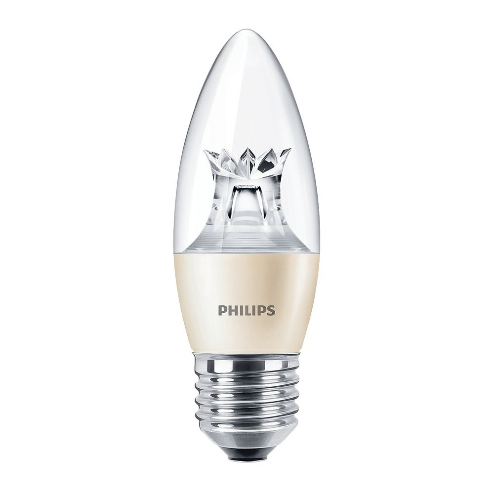 Philips LEDcandle E27 B38 6W 827 (MASTER) | DimTone Dimmable - Substitut 40W