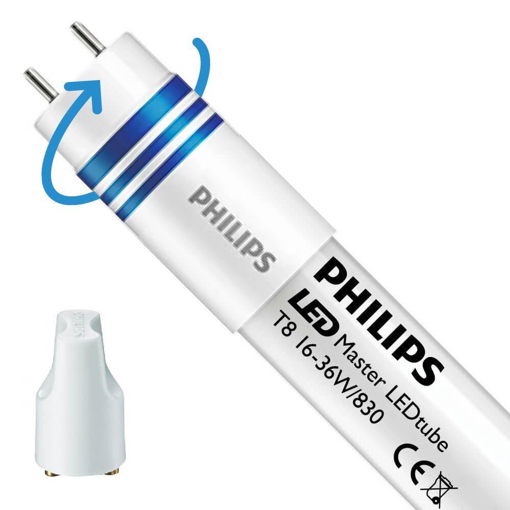 Philips LEDtube UN UO 16W 830 120cm (MASTER) | varm hvid - erstatter 36W