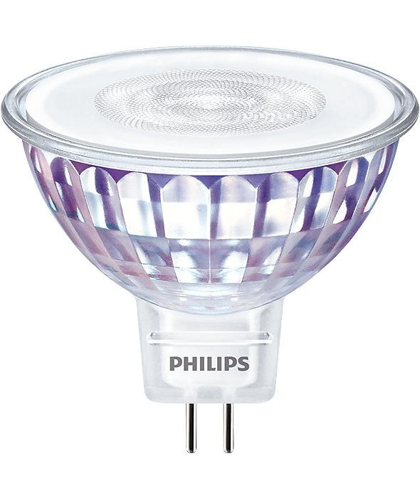 Philips LEDspot VLE GU5.3 MR16 7W 830 60D (MASTER) | Warm Wit - Dimbaar - Vervangt 50W